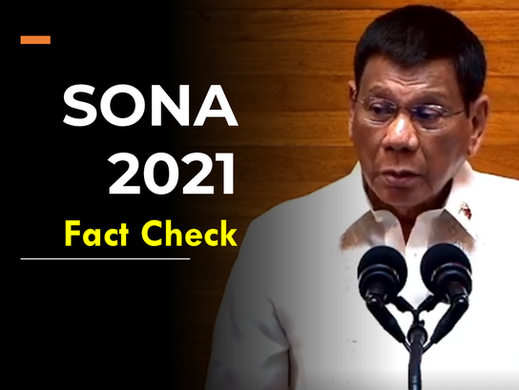 Fact-checking the 2021 SONA