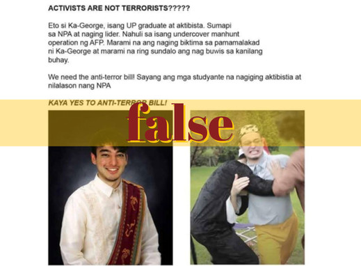 Pics of foreign musician misused to red-tag UP grads