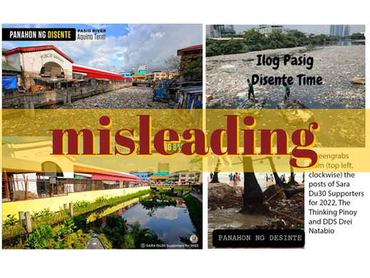 Duterte supporters post misleading 'Disente Time' photos
