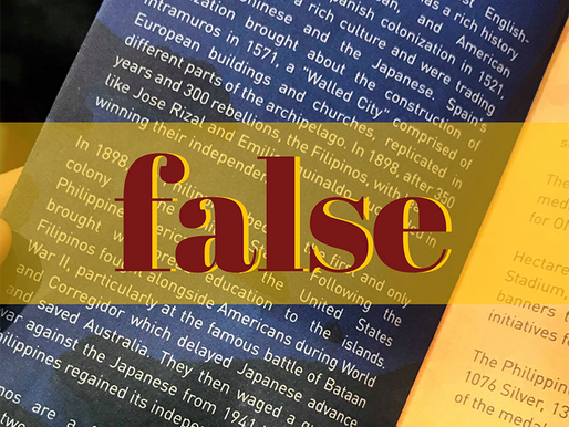 Claim that PH is 'first and only' US colony false
