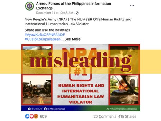FB page passes off US standoff photo as NPA handiwork