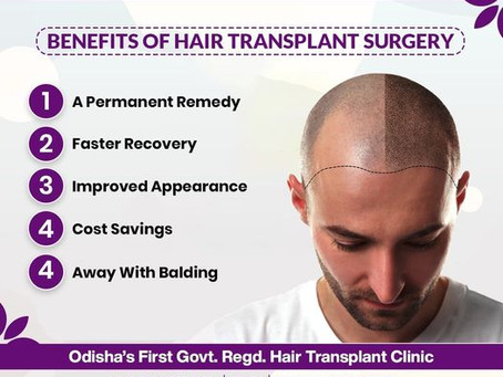 What are the benefits of getting a hair transplant surgery?