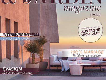 """COEO dans l'emblématique magazine """"Maison & Jardin"""""""