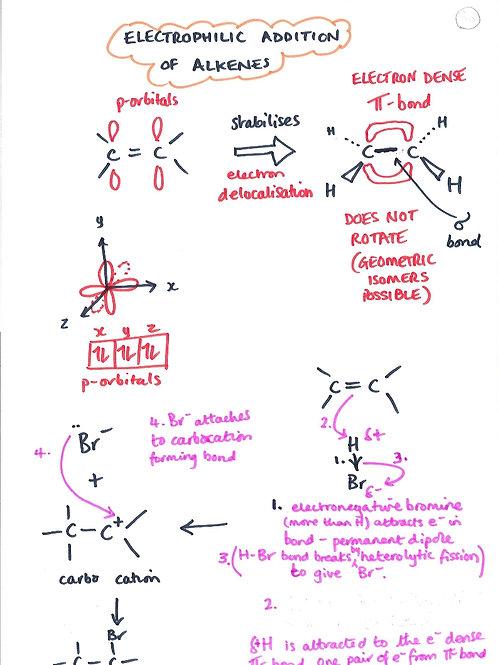 132- Organic - Electrophilic Addition of Alkenes