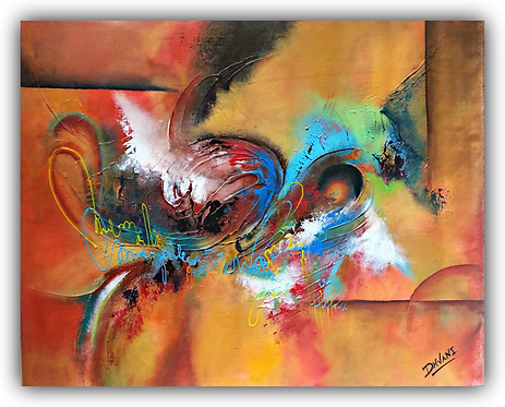(SOLD) Original textured abstract painting