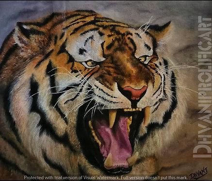 CANVAS PRINT~The Roar