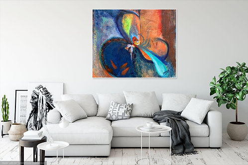 CANVAS PRINT~abstract Painting