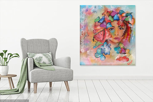 CANVAS PRINT of Adorable