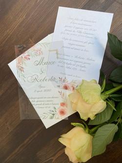 Invito di Matrimonio con busta