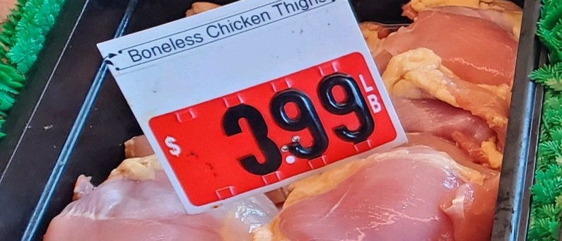 Boneless Chicken Thighs