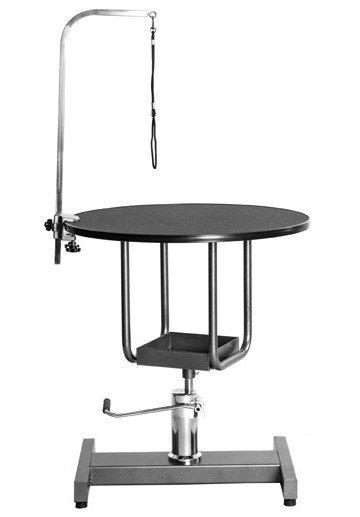 미용 테이블 (유압 원형) - 중형