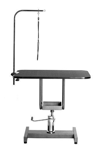 미용 테이블 (유압 사각) - 대형