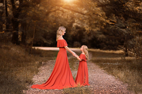 0017 - GYPSY MOTHER AND DAUGHTER DRESS