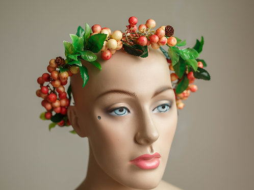 POMEGRANATE FRUIT CROWN
