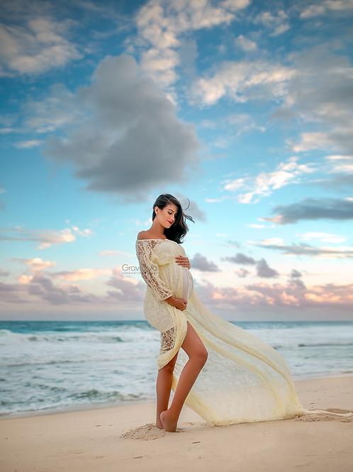 0123 - SILVANA LACE DRESS