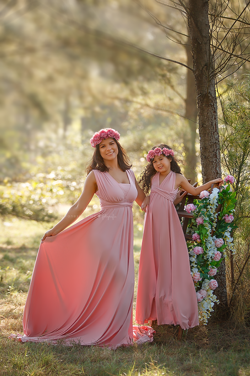 0016 - MOTHER AND DAUGHTER MULTIPURPOSE HANDLE DRESS
