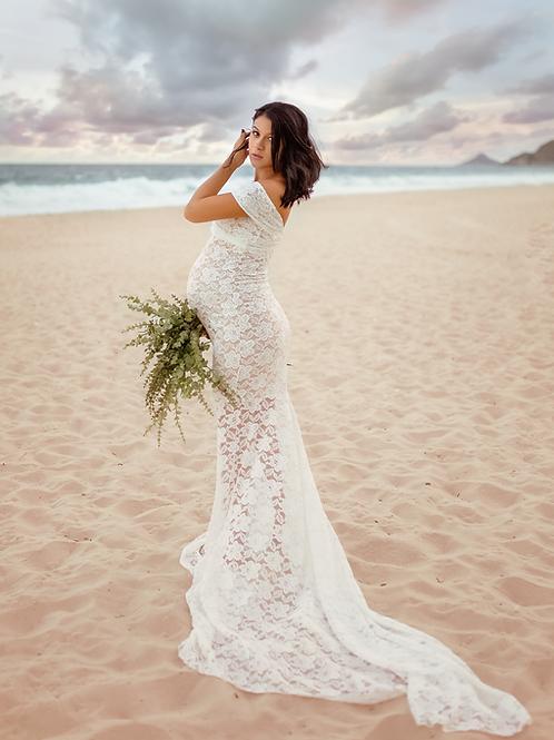 0072a - VESTIDO WEDDING MGA CURTA NATH