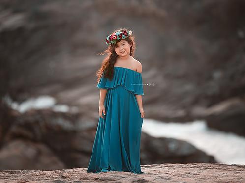 0017b - GYPSY DAUGHTER DRESS