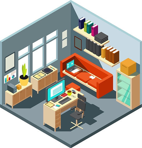 isometric-home-office-interior-3d-worksp