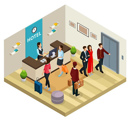 isometric-reception-service-hotel-concep