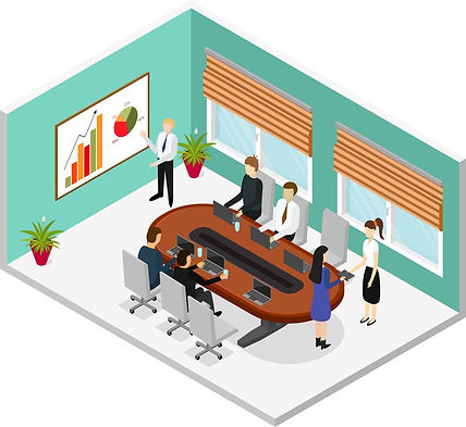 interior-office-conference-room-isometri
