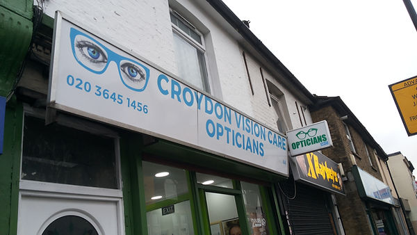 Croydon Vision Care, 44 Lower Addiscombe Road Croydon Surrey, CR0 6AA  affordable eyecare