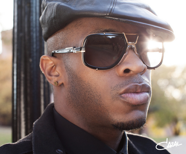 A man  wearing Cazal sunglasses and spectacles obtained from Croydon Vision Care Opticians, Addiscombe, Croydon, Surrey.  Spectacles, Sunglasses and Contact lenses, sight tests are available.