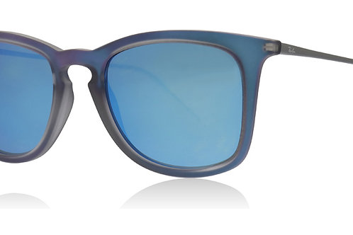 Ray-Ban® RB4221-50 617055 Shot Blue Rubber