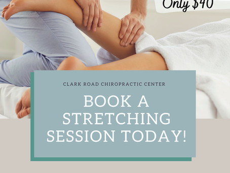 Book a Stretching Session Today!