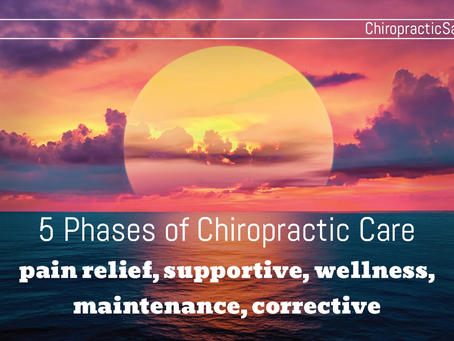5 Phases of Chiropractic Care