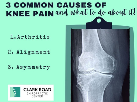 3 Common Causes of Knee Pain