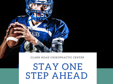 Stay One Step Ahead of the Game with Chiropractic!