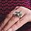 Thumbnail: MARTINE K18 Gold Green Amethyst Square RING(グリーンアメジストスクエアリング)(M044-gold)