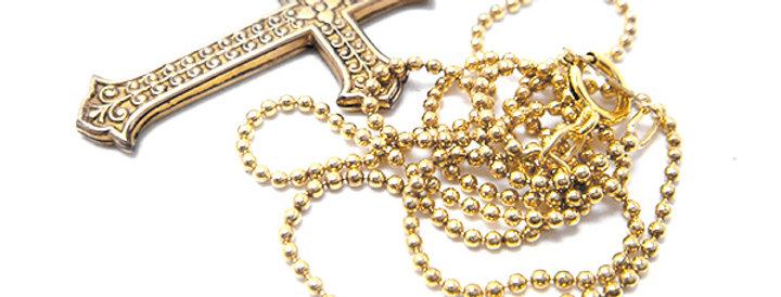 K14 Gold filled Ball chain / K14ゴールドフィルド ボールチェーン(GO13002)