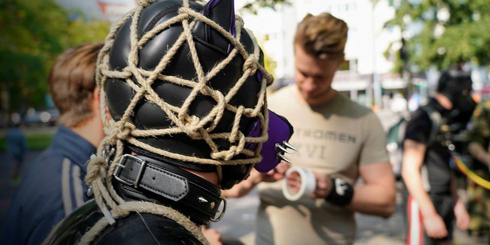 Bondage online - Advanced - Head Harness