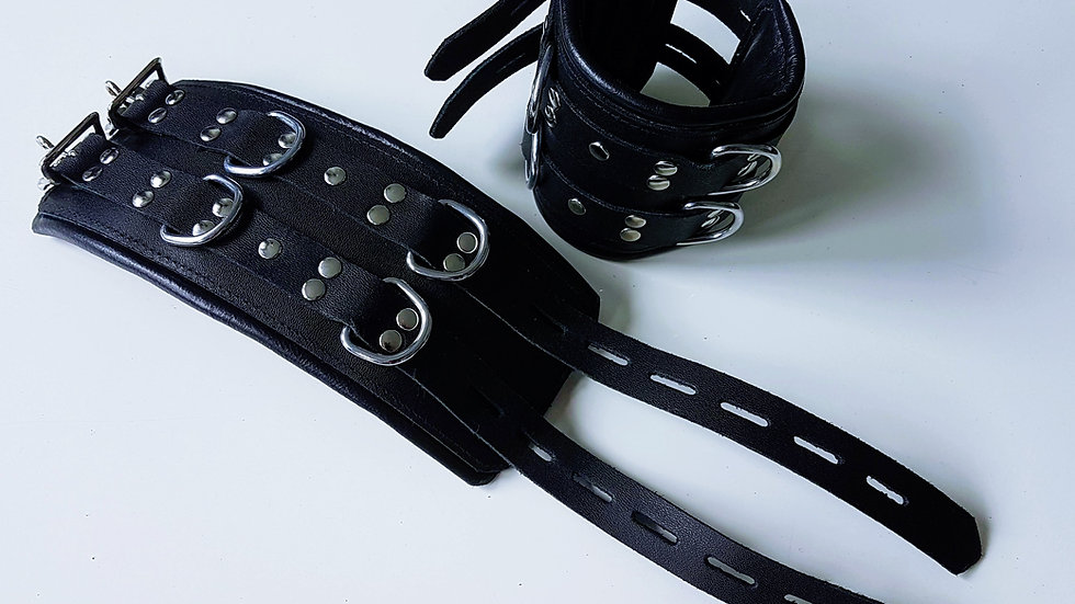 Double Padded Bondage Cuffs (Arms & Legs)