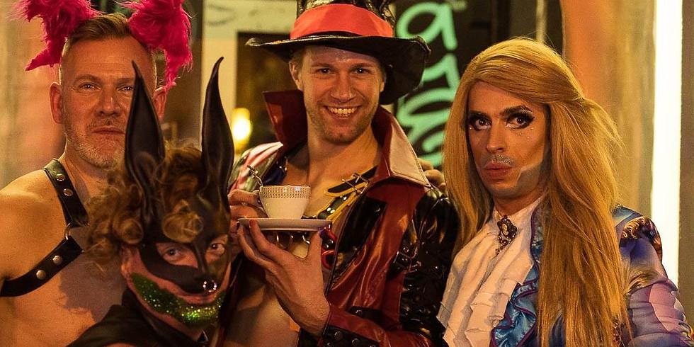 Die Teegesellschaft - Kinky Cocktails, Shows und Talks
