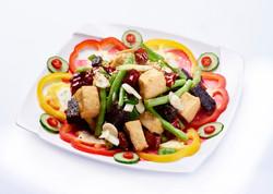 四季香-選用高山四季豆,加上大溪有名臭豆腐,乾辣椒