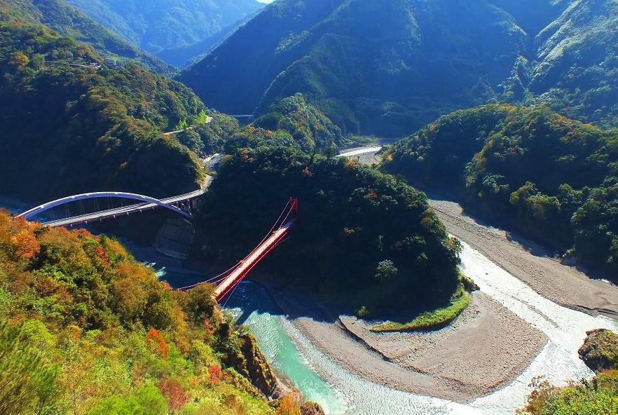 9月、10月-角板山公園(復興公園)、三光村賞楓
