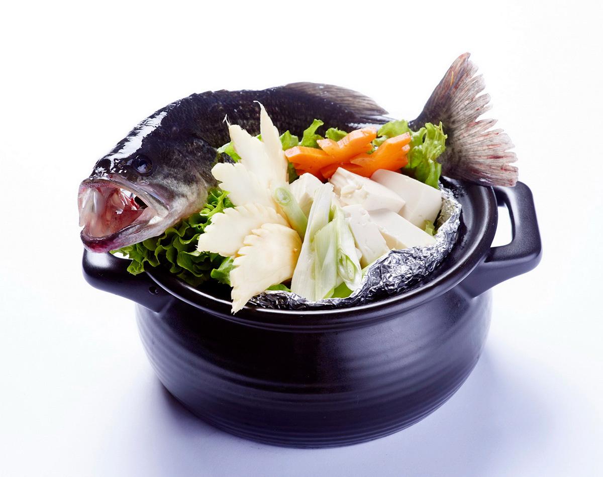高山鱸魚湯-東眼山活水養殖2年之高山鱸魚,雞湯熬...