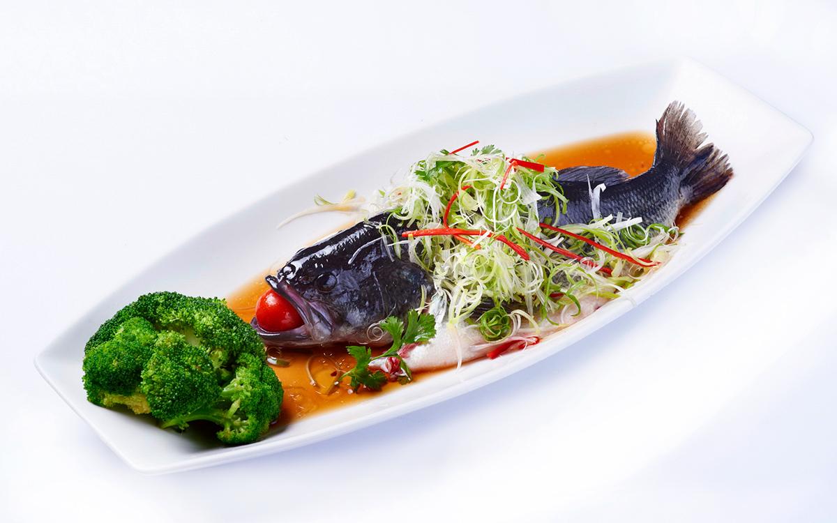 清蒸高山鱸魚-只吃得到肥嫩鮮甜的魚