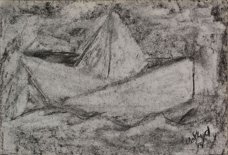 BOCETO __IN SEARCH OF__14 x 20.5cm Charc