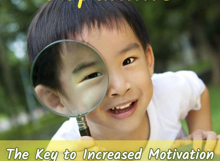 The Key to Increased Motivation and Focus in Children and Teens