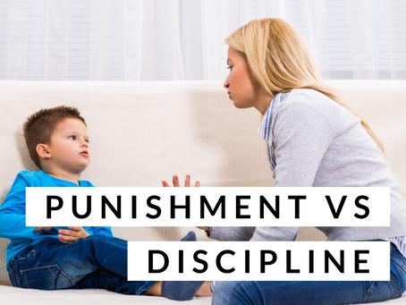 Punishment vs. Discipline
