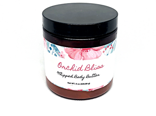Whipped Body Butter: Orchid Bliss 8oz
