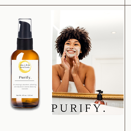 Purify. One-step Facial Cleanser