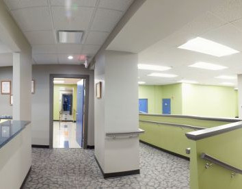Rehab Check-Out Counter