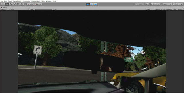 Keep your Virtual Eyes on the Road!