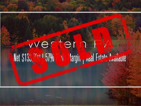 Pennsylvania Practice Sold!