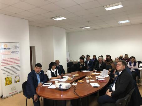 Расширенное заседание научно-методического совета Астанинского филилала КазНИИППП